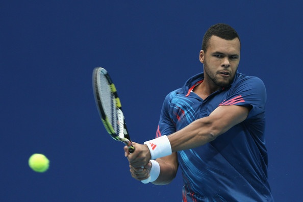 Jo Wilfred Tsonga has power and grace on the court