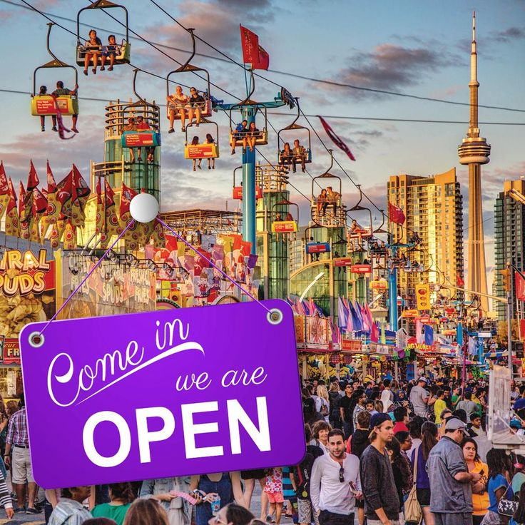 The 137th Canadian National Exhibition is open! #CNE2015 #toronto
