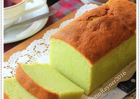 Condensed milk pandan cake