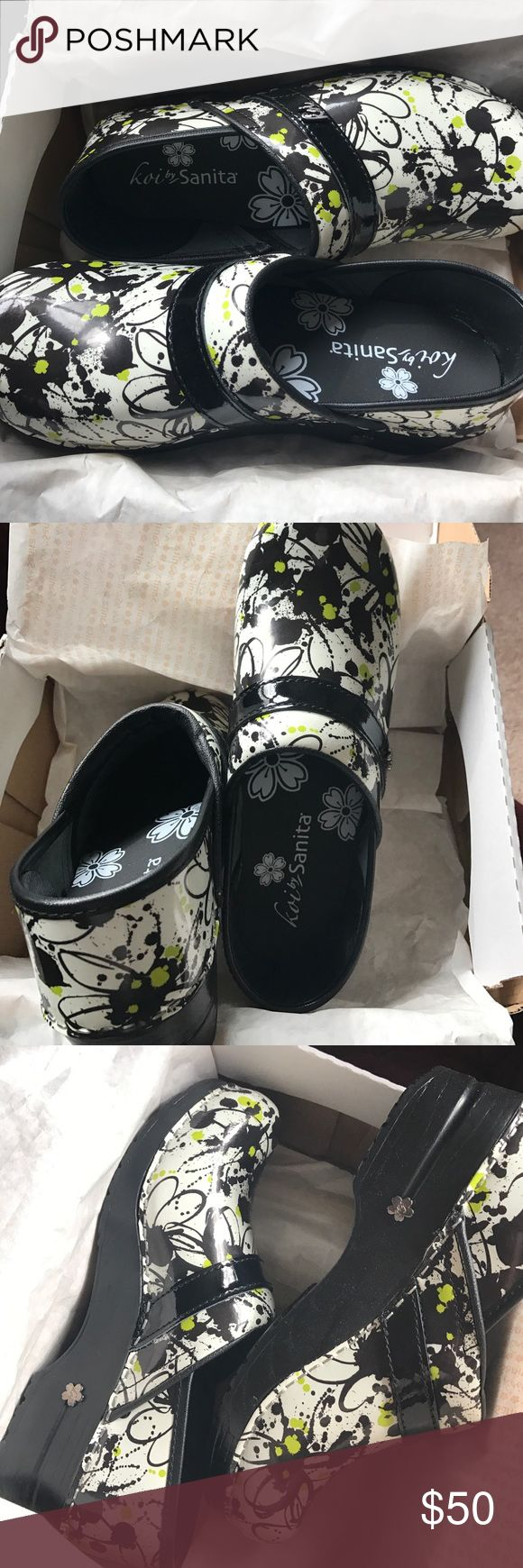 Koi by Sanita Women's Clogs Brand new women's clogs, discontinued pattern, truly original, never worn! Koi by Sanita Shoes Mules & Clogs