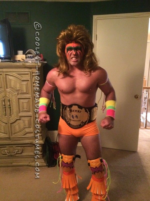 The Best Ultimate Warrior Costume Ever