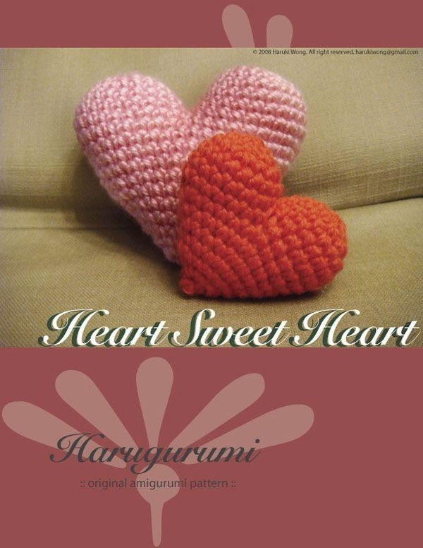 18 Best Crochet Heart Pattern Images On Pinterest Crochet Hearts