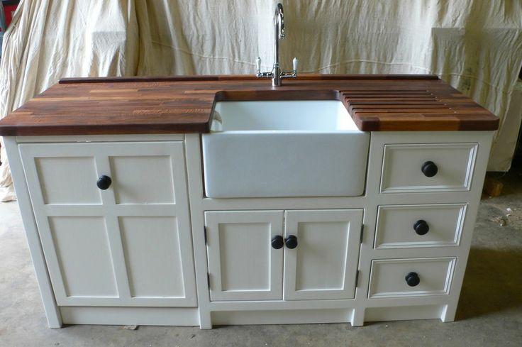 Handmade Freestanding Belfast Sink Appliance Unit Reduced