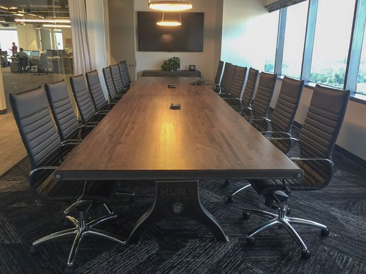 Perfect Hure Conference Table By Vintage Industrial Furniture