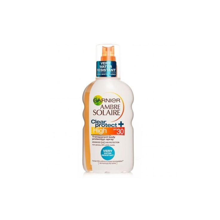 Garnier Ambre Solaire Clear Protect Transparent Spray SPF30