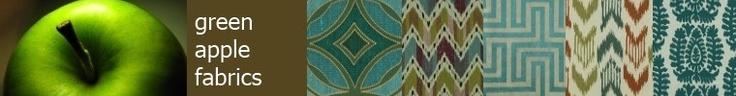 modern upholstery fabrics by greenapplefabrics on Etsy