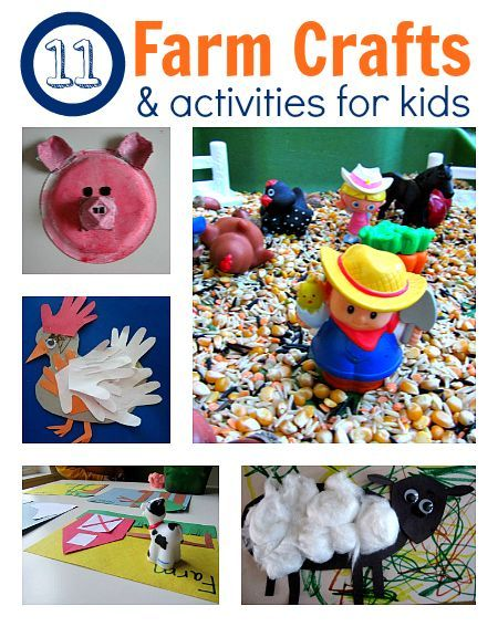 Easy Farm Crafts For Kids