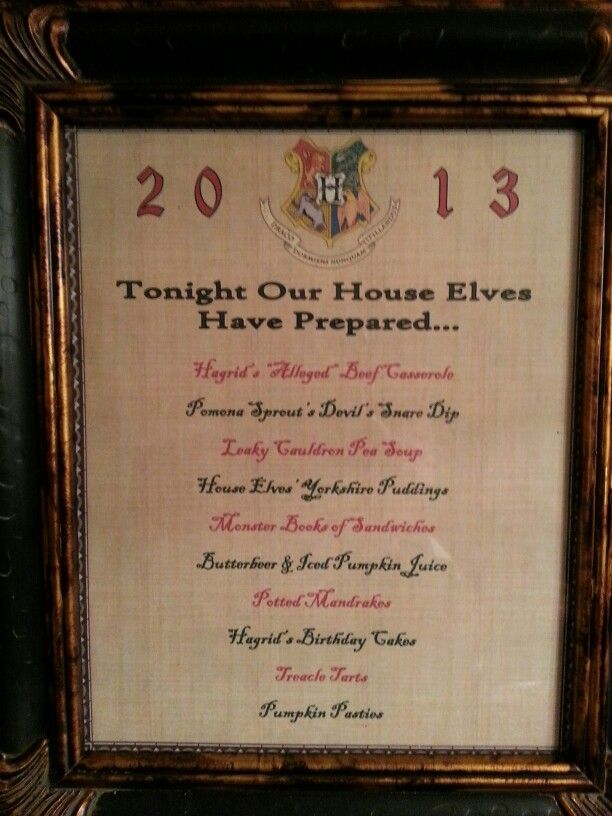 78 Images About Harry Potter Party On Pinterest Butter