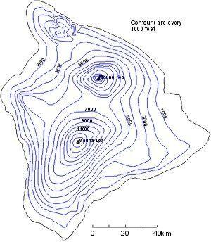 Volcano Topographic Map.Resultado De Imagem Para Hawaii Volcano Topographic Map Geography