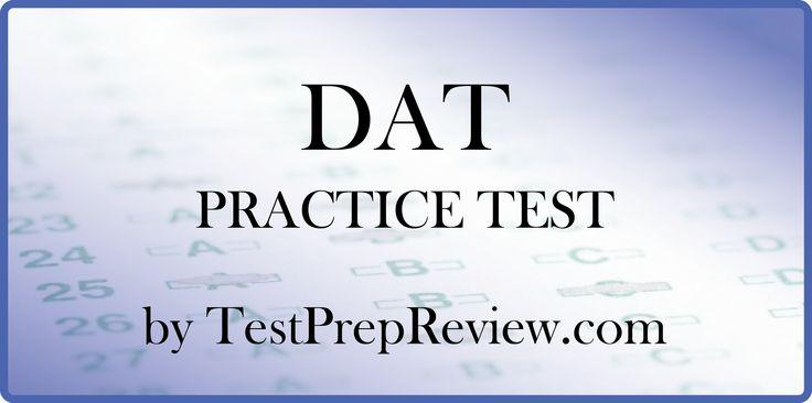 Dental Admission Test (DAT) - American Dental Association