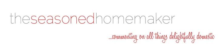 Welcome to The Seasoned Homemaker!