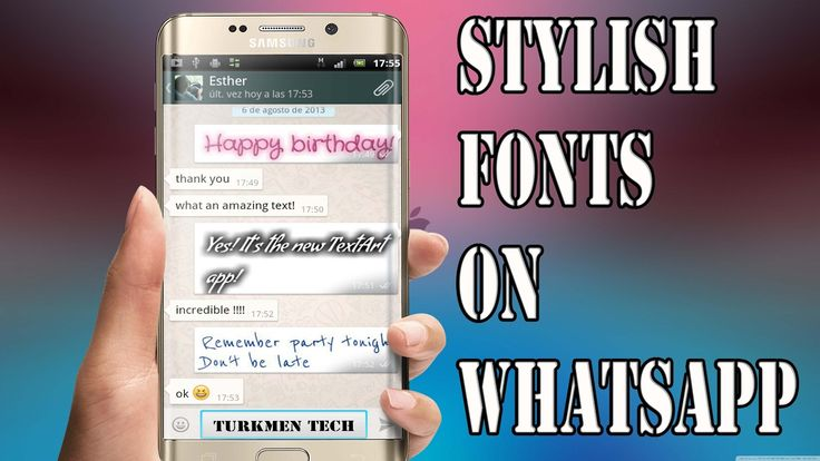 How To Write Stylish Texts On Whatsapp (100%WORKS)