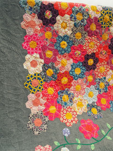like it: Quilt Love, Creative Quilt Patterns, 1930 S Quilts, Flower Hexagons, A6 Patchwork Hexagons, Flower Quilts