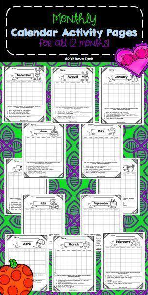 Best  Calendar Activities Ideas On   Maths Games Ks