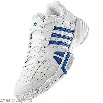 #Adidas boys junior barricade team 2 tennis #shoe. tennis trainer. #various sizes,  View more on the LINK: http://www.zeppy.io/product/gb/2/262026135440/