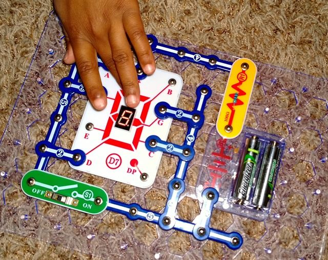 Snap Circuits: a fun and safe way to learn about electricity and circuit-building.