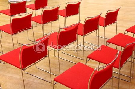sedie rosse — Foto Stock © frizio #72815603