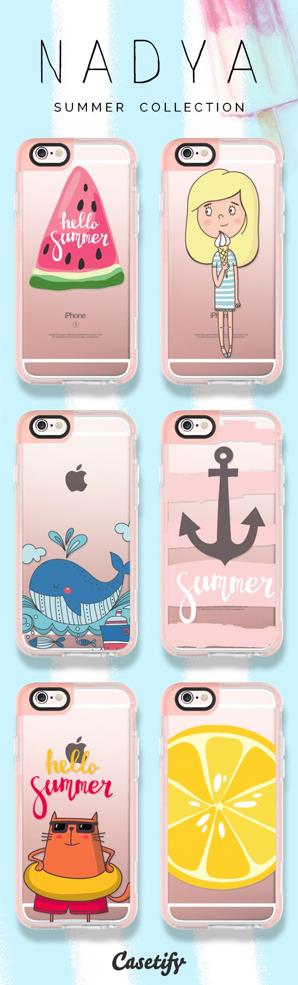 Hello Summer. Check out these #summer themed phone cases designed by Nadya here >>> https://www.casetify.com/artworks/mc2Wm0gDZg   @casetify