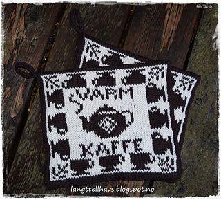 Varm kaffe, gryteklut pattern by Jorunn Jakobsen Pedersen