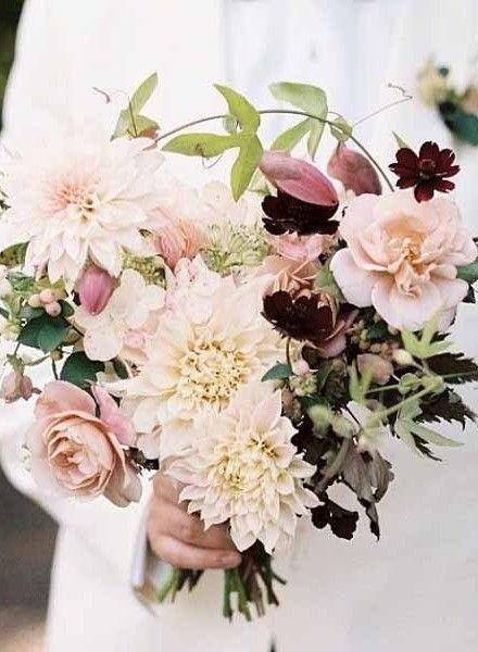 Schöner Herbst-Brautstrauß