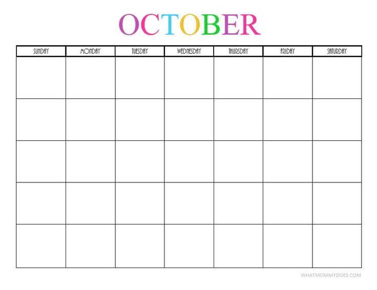 Best 25+ Blank monthly calendar template ideas on Pinterest Free - monthly calendar