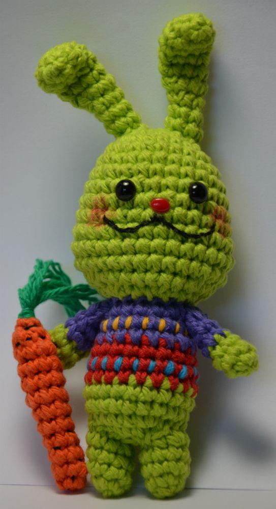 Easter Bunny - free amigurumi pattern! Nerdigurumi - Free ...