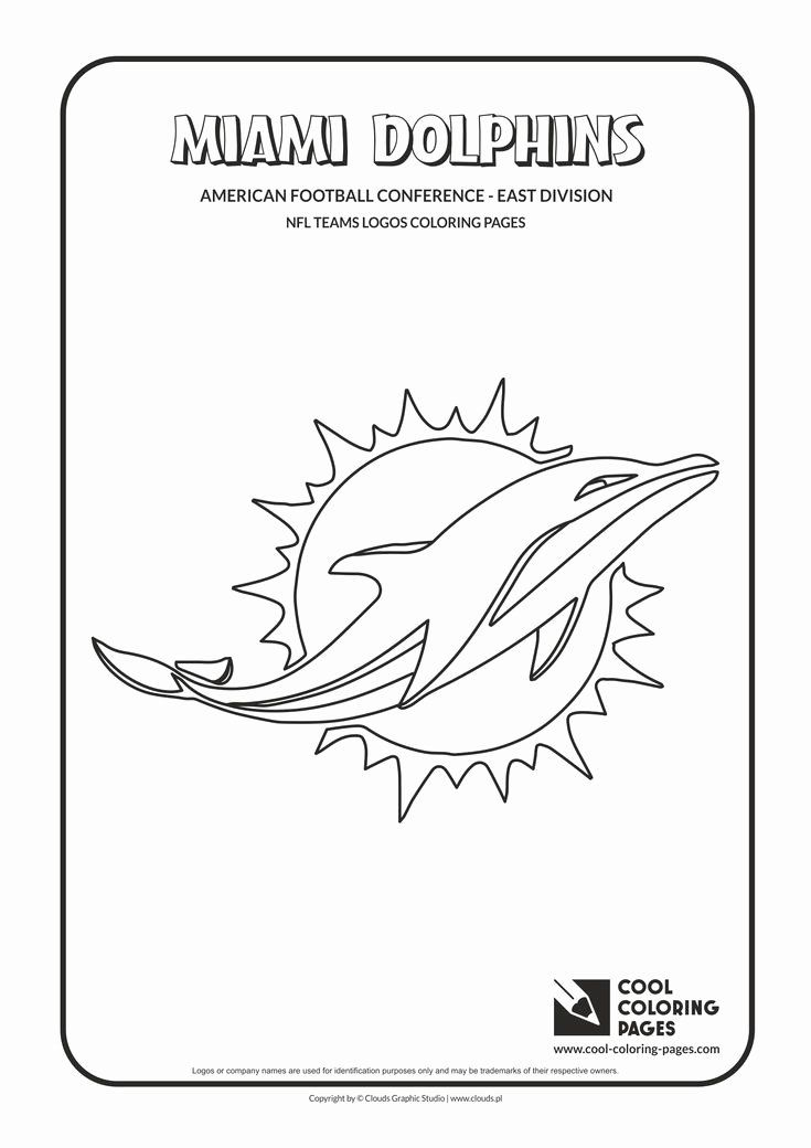 Nfl Logo Coloring Page Awesome 34 Best Nfl Teams Logos Coloring Pages Images On Pinterest Football Coloring Pages Dolphin Coloring Pages Sports Coloring Pages