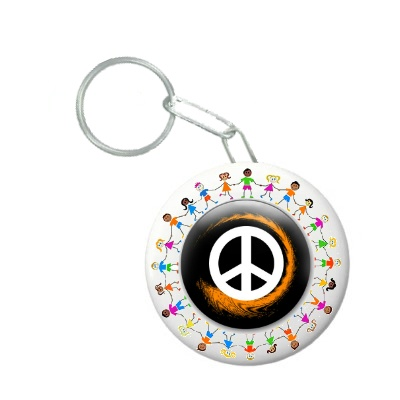 Botón Llavero Destapador para Nonayudologos - No Compres, Ayuda!