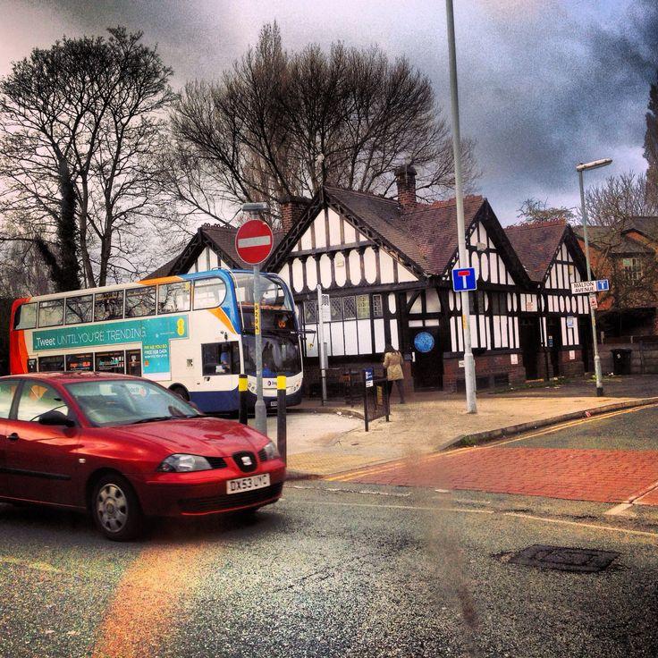 Chorlton Bus Station.