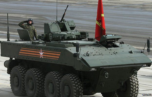 The Russian Bumerang 8×8 Armoured Personnel Carrier
