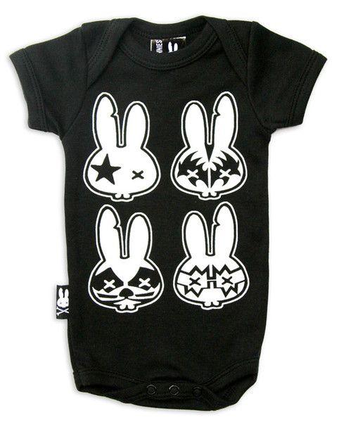 Bodýčko Six Bunnies - Rock Bunny