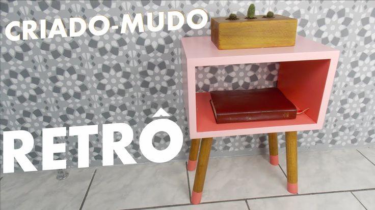 CRIADO-MUDO RETRÔ | DIY Móveis Reforma Quarto