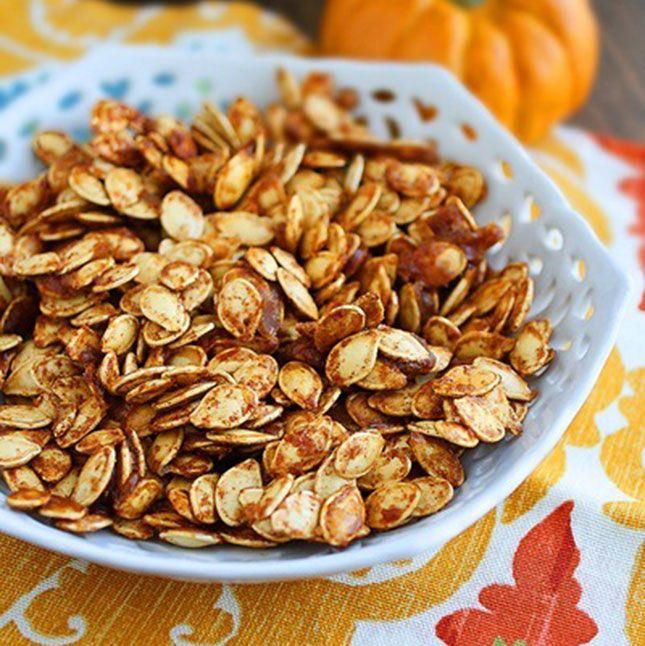 salted pumpkin seeds recipe