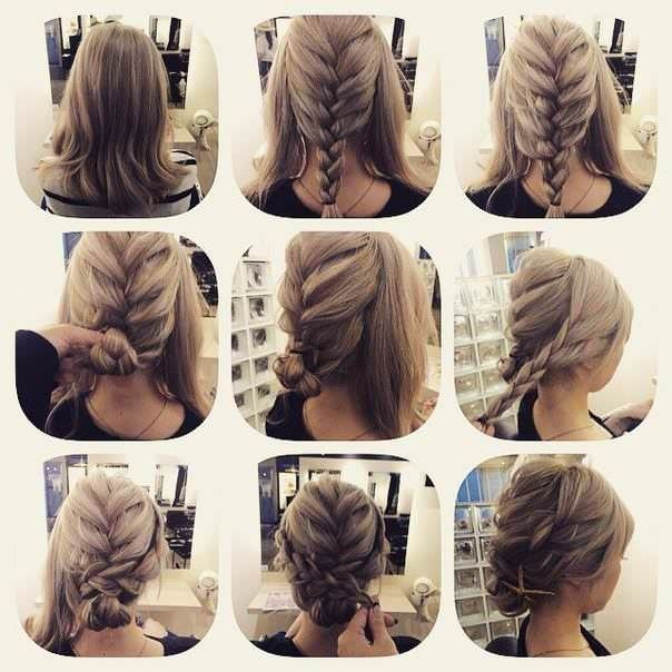 How To Do Hairstyles how to do a waterfall french braid hack How To Do Hairstyles For Shoulder Length Hair