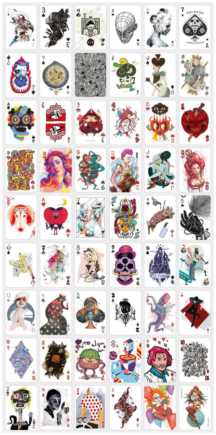 20 stylish custom playing cards | Creative Bloq