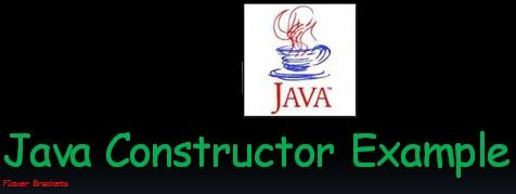 In this post we will learn java constructor example. Basically constructor in java is a method, rather a special method to initialize an object.