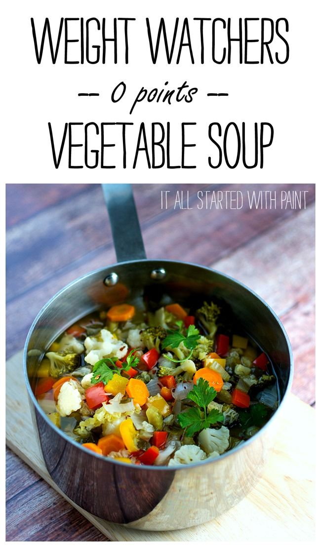 Weight Watchers recipe 0 points soup