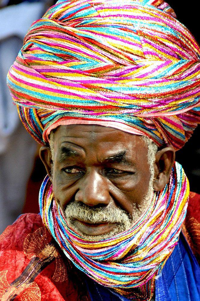 A Tuareg in Northern Nigeria. ©Susanne Wallershaus