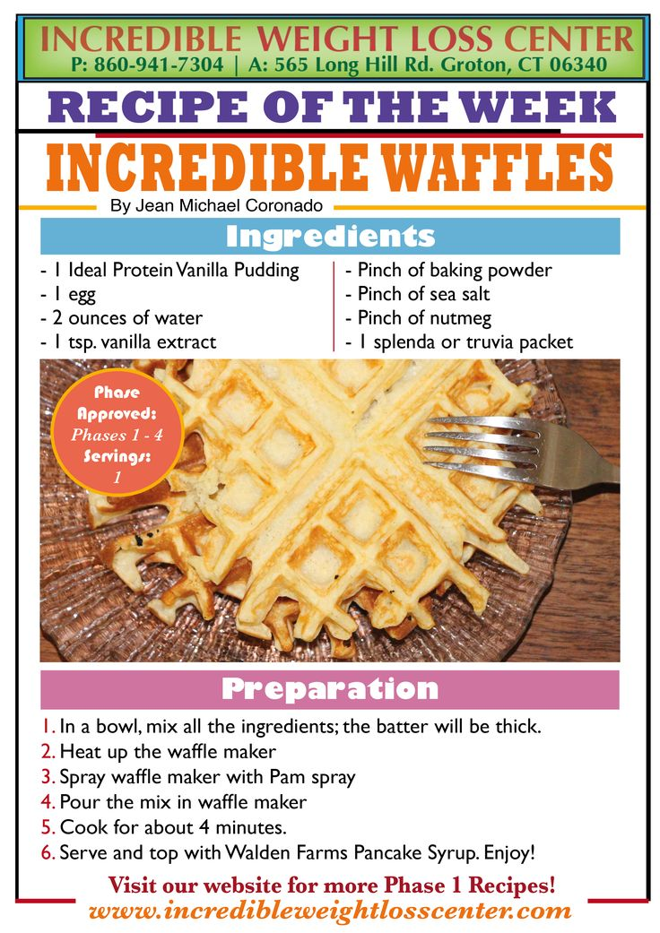 Craving For Some Waffles Then Try These Ideal Protein Phase 1 Approved Waffles They Are