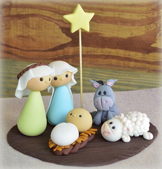 Nativity Scene Topper - SugarEd Productions Online Classes