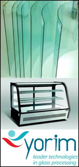 Curved glass is made of float glass which is firstly heated to soften point on metal mould and then curved to shape by weight of glass itself and outside force, and finally cooled down. Curved tempered glass, however, is made by fast cooling down by special facility.
