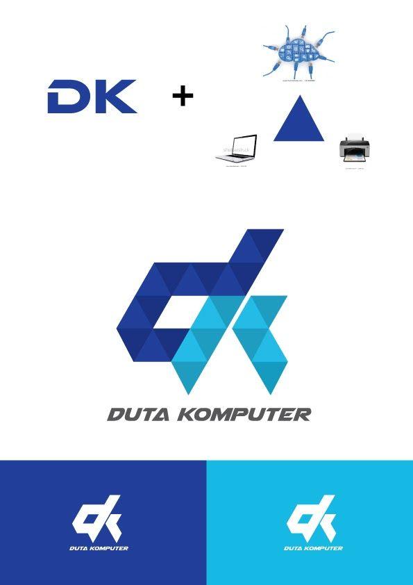 Logo design duta komputer