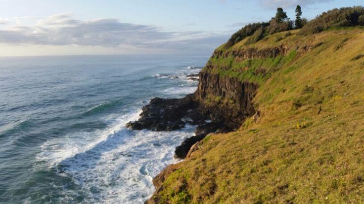 Skennars Head cliffscape