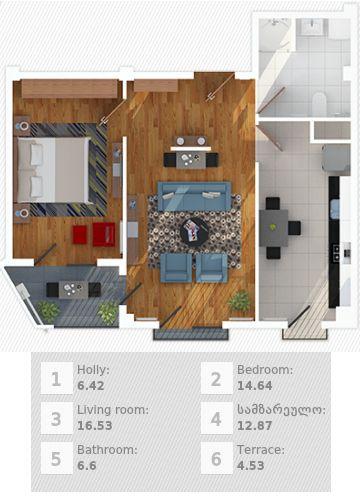Badezimmer 6 5 M2 U2013 Moonjet, Badezimmer Ideen