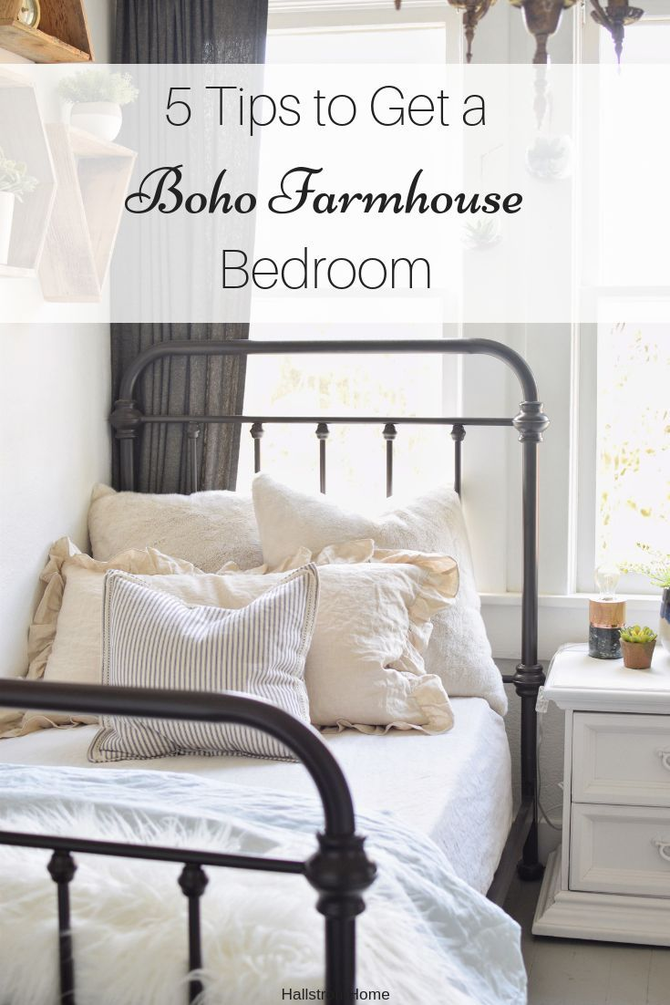 5 Style Tips For A Teen Girls Boho Farmhouse Bedroom|boho Bedroom|boho  Decor|bohemian Farmhouse Bedroom|bohemian Farmhouse Style|bedroom  Update|boho Teenage ...