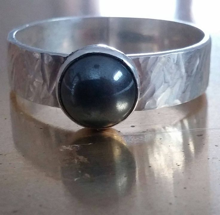 A personal favorite from my Etsy shop https://www.etsy.com/ca/listing/545890457/mens-or-womens-hematite-round-stone