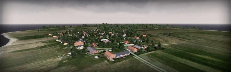 Danish Airfields X – Tuno – review (5****) • C-Aviation  #Denmark #FSX #Scenery #VidanDesign