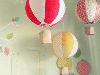 Decoración infantil: ¡una lámpara muy original!