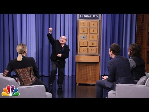 The Tonight Show Starring Jimmy Fallon: Charades with Danny DeVito, Khloé Kardashian and Norman Reedus