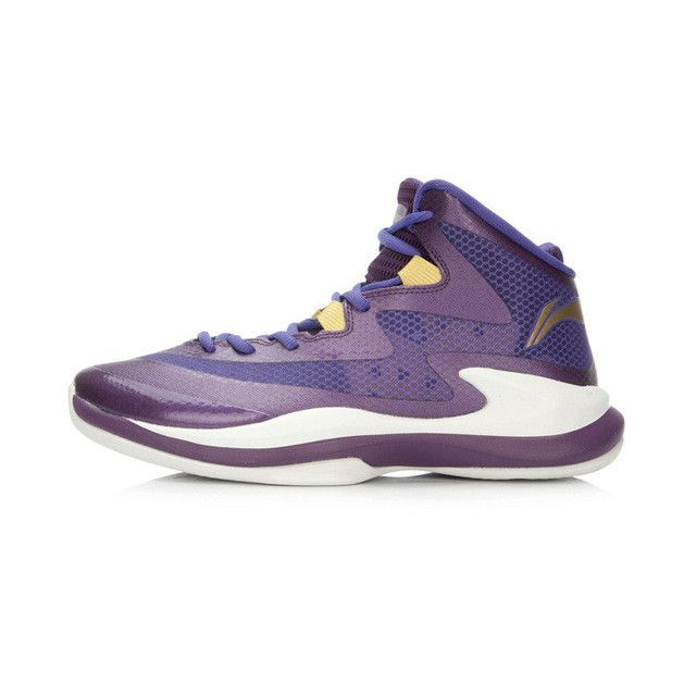 LI-NING Original Men's Basketball Shoes Breathable Light Sneakers Support Stability Footwear